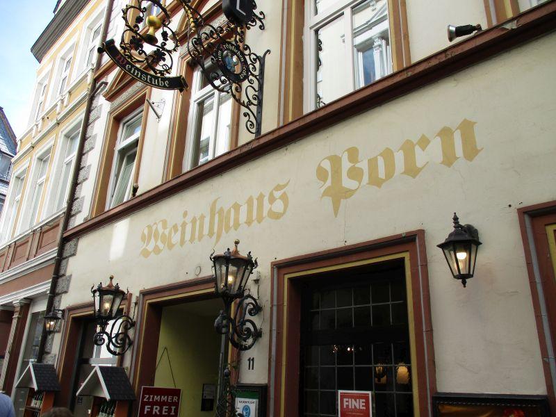 Weinhaus Porn in Bernkastel-Kues