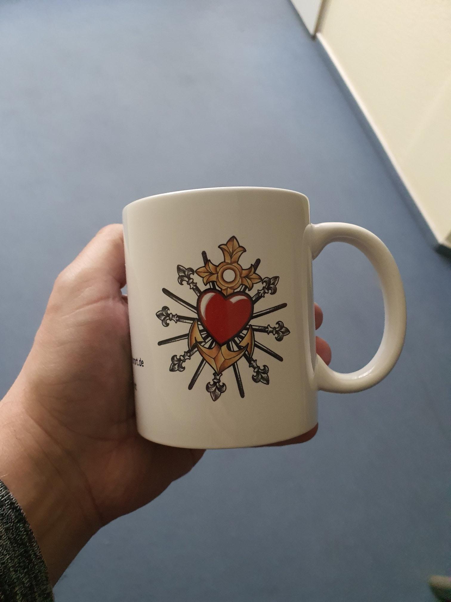 Kreativquartier Ruhrort Tasse Vorderseite