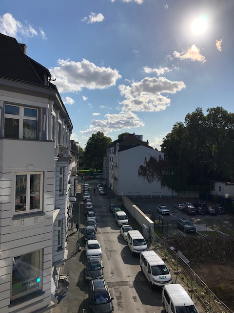 Ausblick Duisburg Börsenstraße