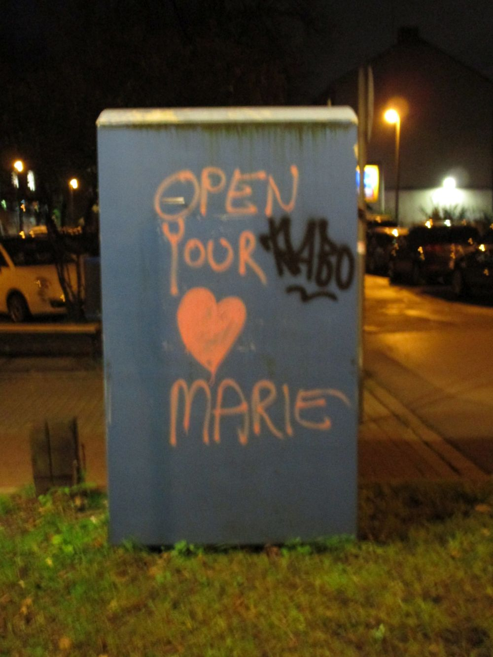 Open Your Heart Marie