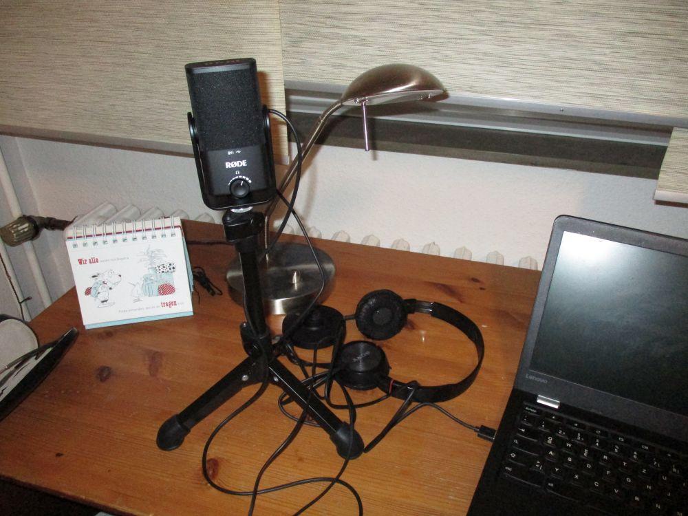 Podcast-Setup