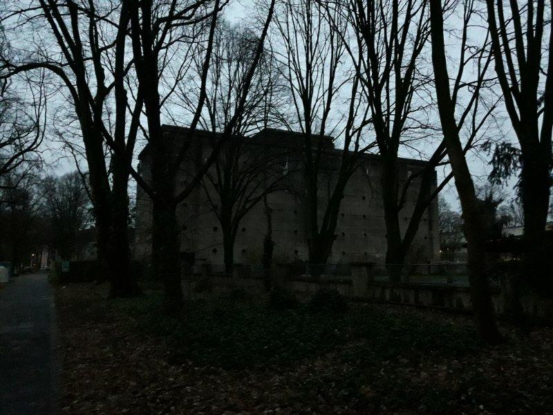 Bunker im Dunkeln