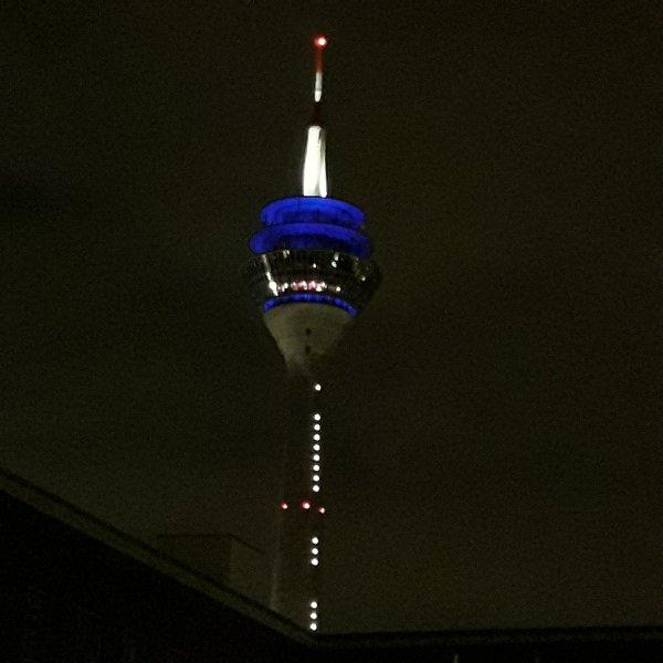 Der Fernsehturm erwartet die Aliens