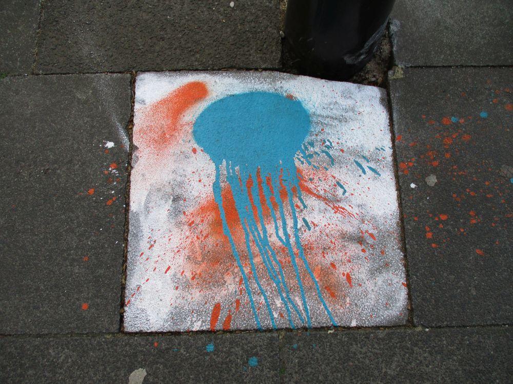 Straßenqualle